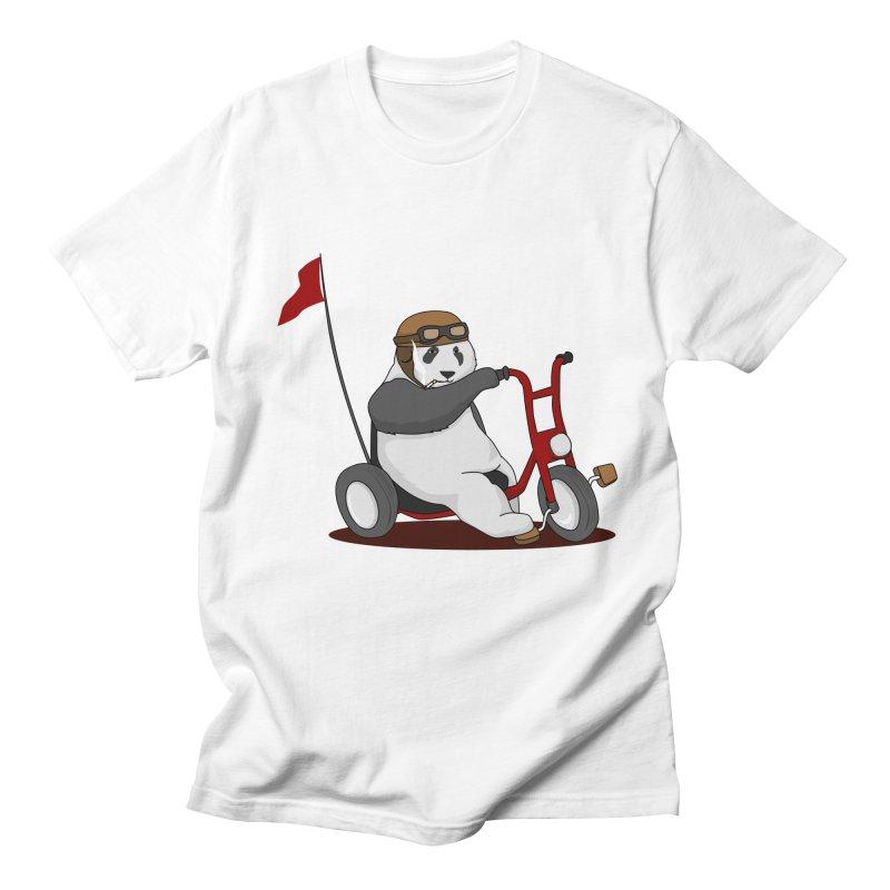 panda custom garage Men's Regular T-Shirt by SOE