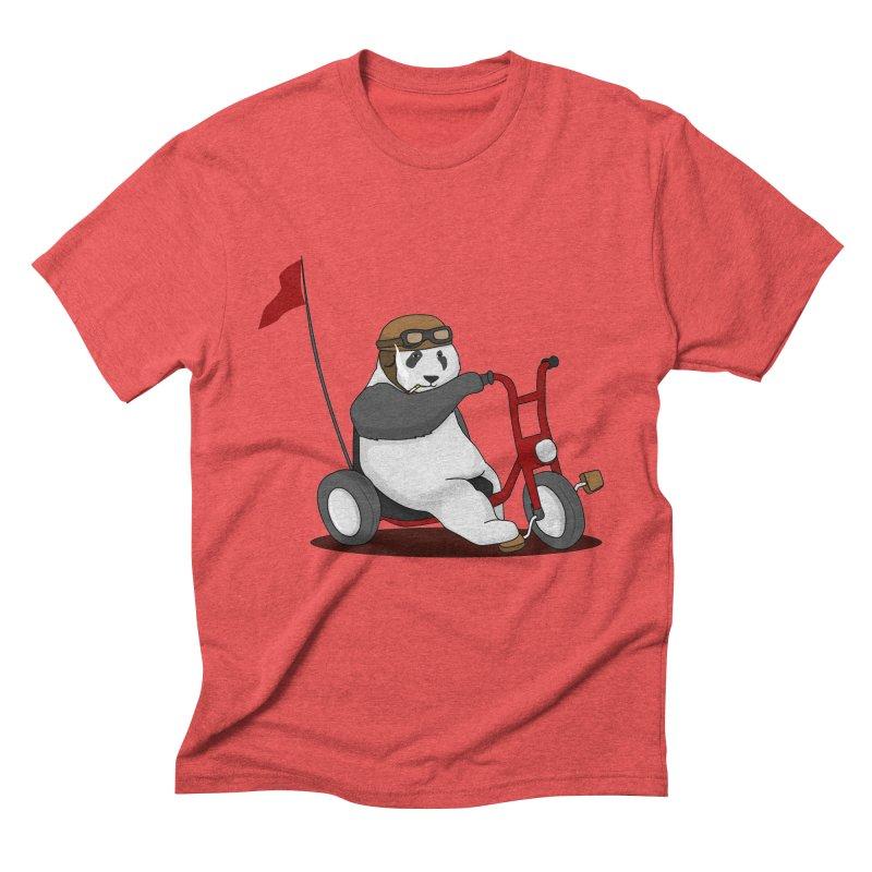 panda custom garage Men's Triblend T-Shirt by SOE