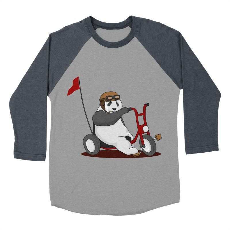 panda custom garage Men's Baseball Triblend Longsleeve T-Shirt by SOE