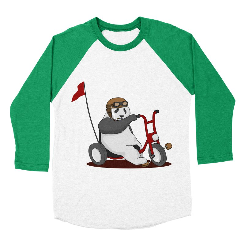 panda custom garage Men's Baseball Triblend Longsleeve T-Shirt by SOE