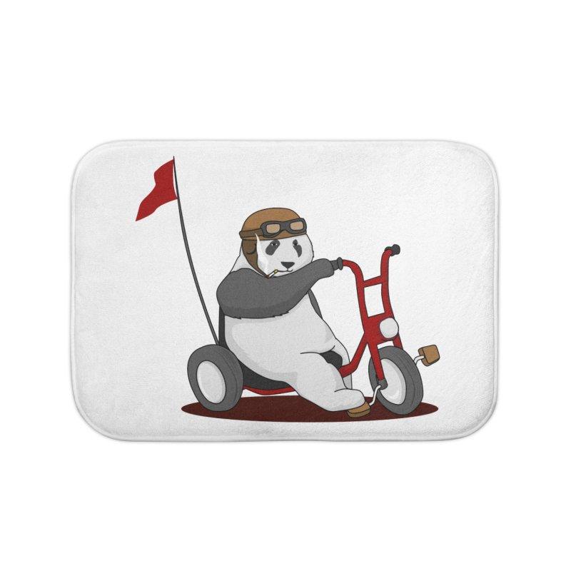 panda custom garage Home Bath Mat by SOE