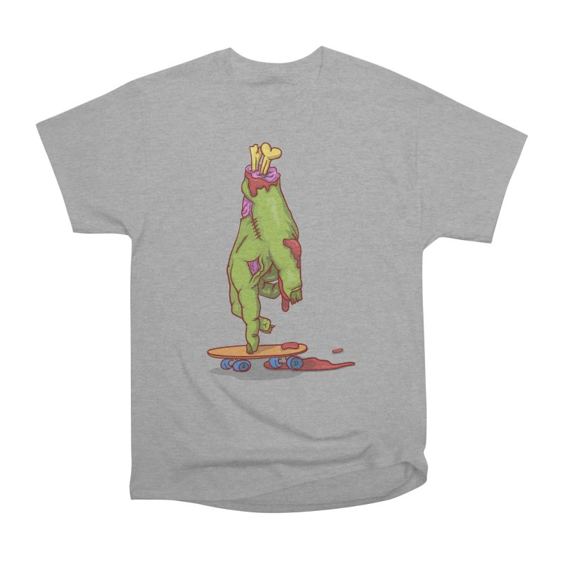 zombie hand skateboard Men's Heavyweight T-Shirt by SOE