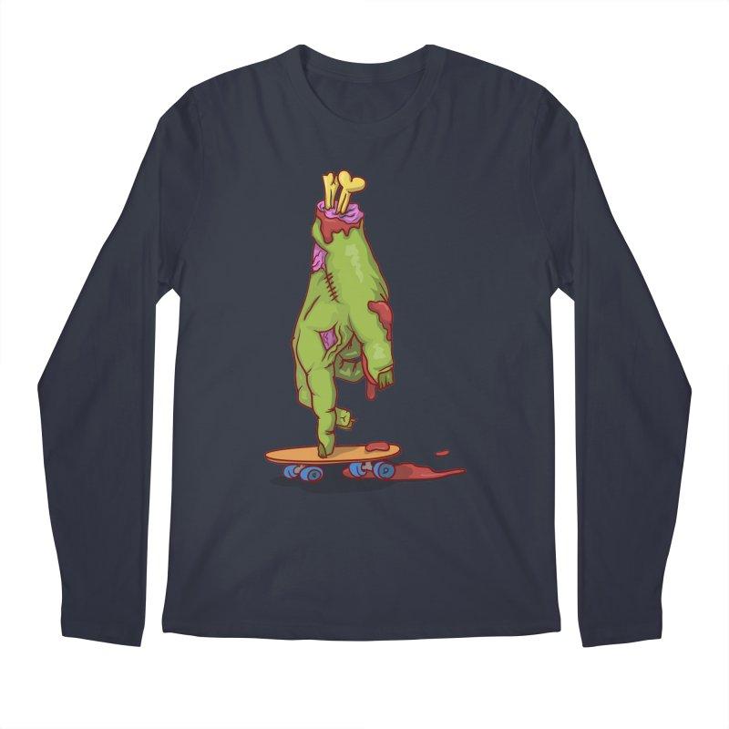 zombie hand skateboard Men's Longsleeve T-Shirt by SOE