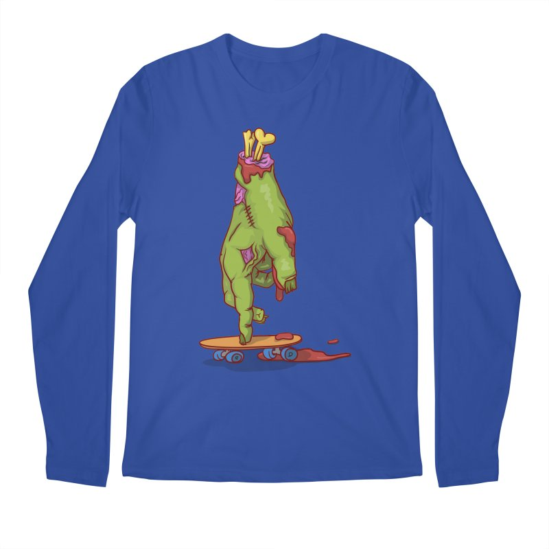 zombie hand skateboard Men's Longsleeve T-Shirt by SOE