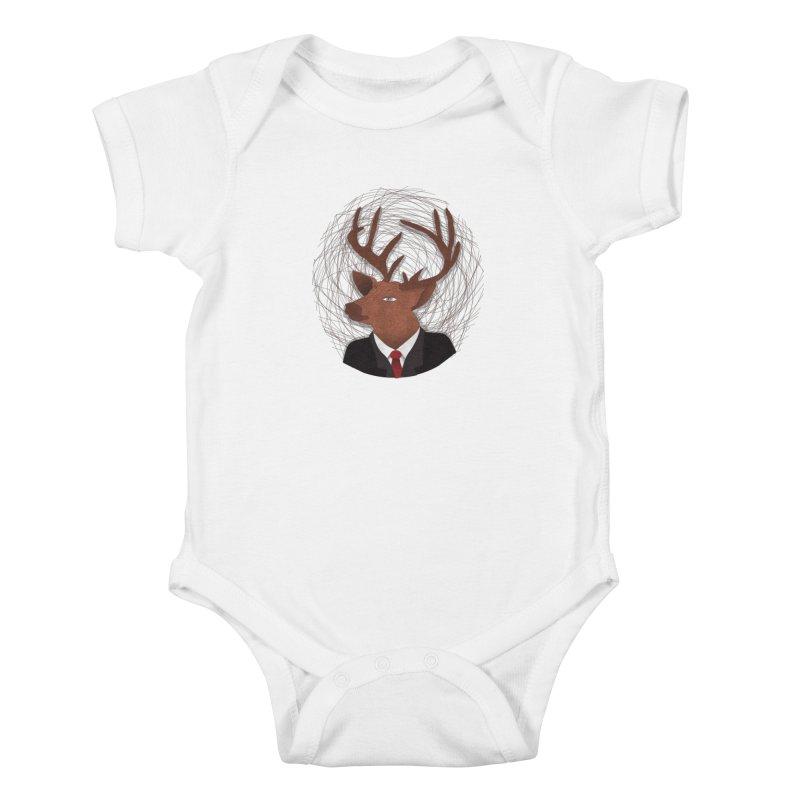 Mr Deer Kids Baby Bodysuit by SOE