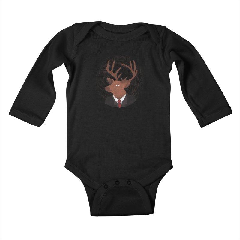 Mr Deer Kids Baby Longsleeve Bodysuit by SOE