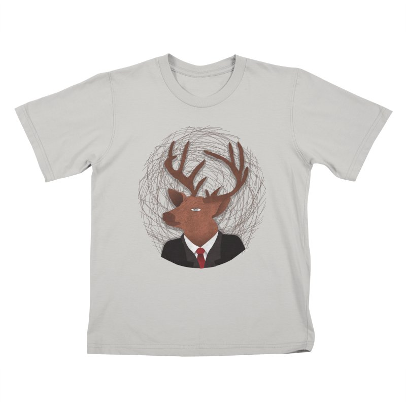 Mr Deer Kids T-shirt by SOE