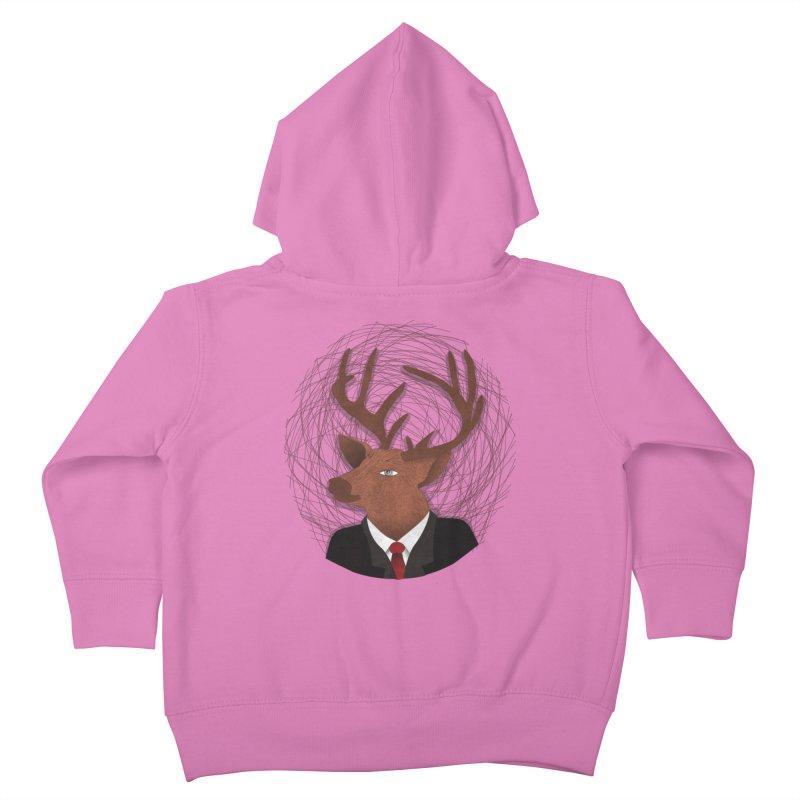 Mr Deer Kids Toddler Zip-Up Hoody by SOE