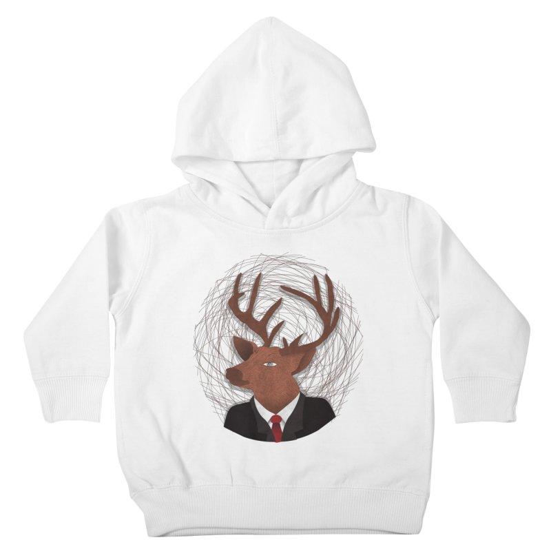 Mr Deer Kids Toddler Pullover Hoody by SOE
