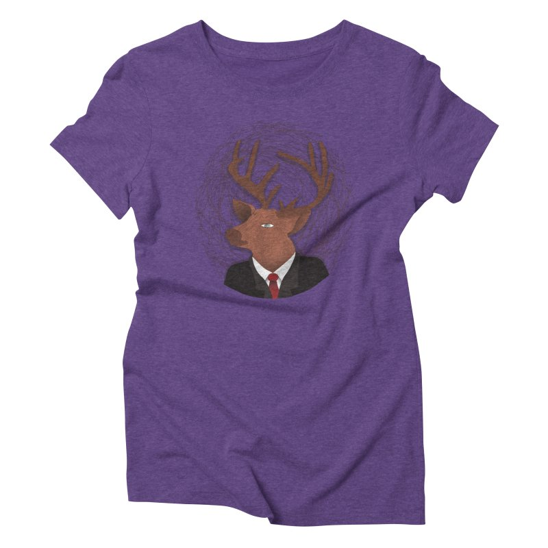 Mr Deer Women's Triblend T-shirt by SOE