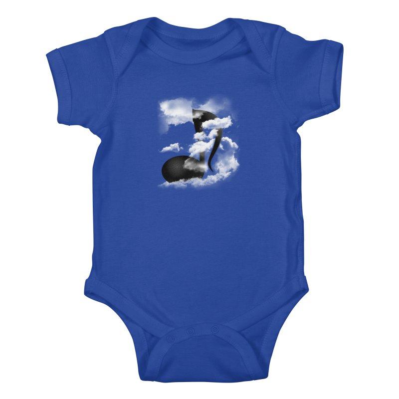 Music in the Sky Kids Baby Bodysuit by SOE