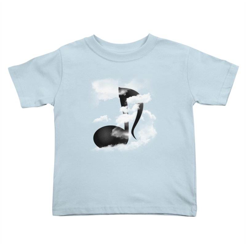 Music in the Sky Kids Toddler T-Shirt by SOE