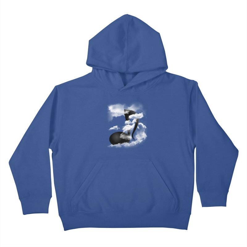 Music in the Sky Kids Pullover Hoody by SOE