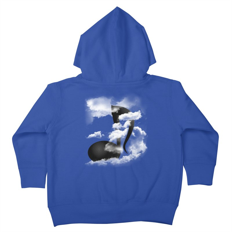 Music in the Sky Kids Toddler Zip-Up Hoody by SOE
