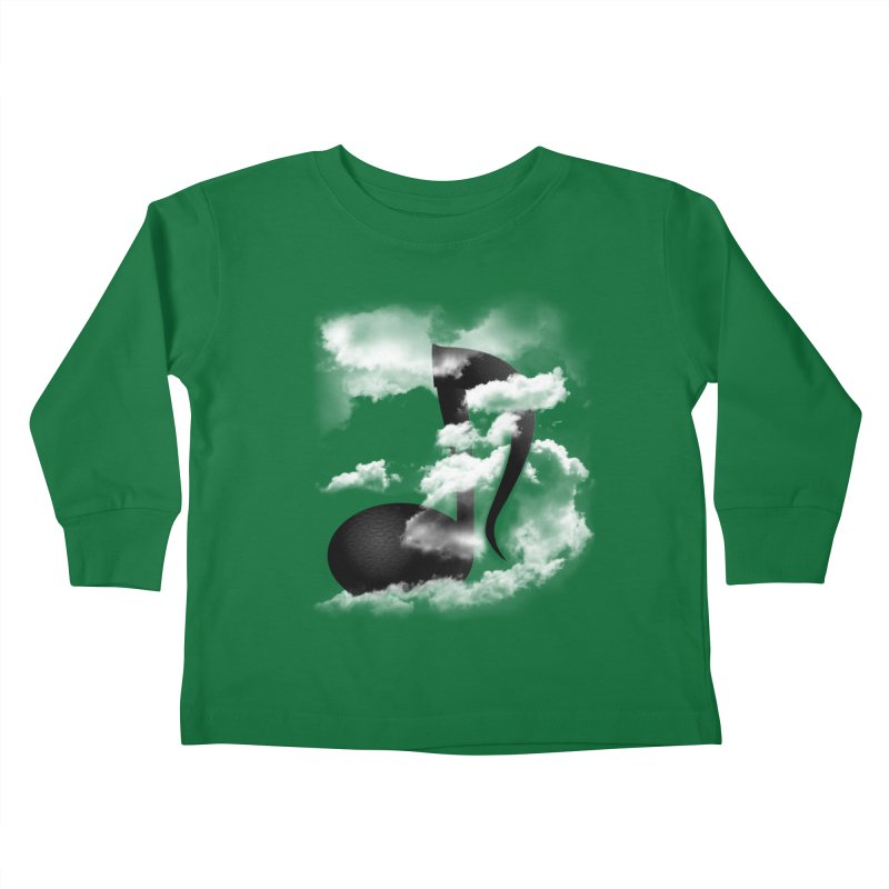 Music in the Sky Kids Toddler Longsleeve T-Shirt by SOE