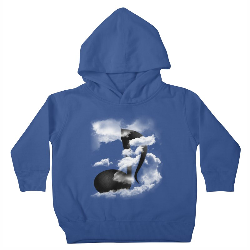 Music in the Sky Kids Toddler Pullover Hoody by SOE