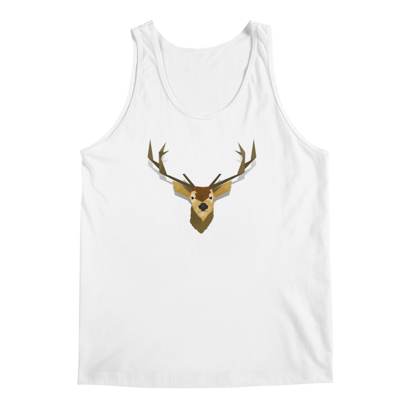 Low Poly Deer Men's Tank by SOE