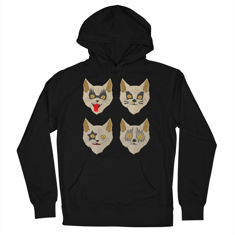 Cat Kiss Women's French Terry Pullover Hoody by SOE