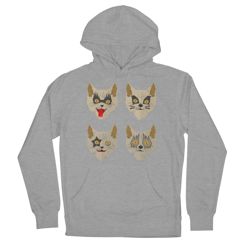 Cat Kiss Men's Pullover Hoody by SOE