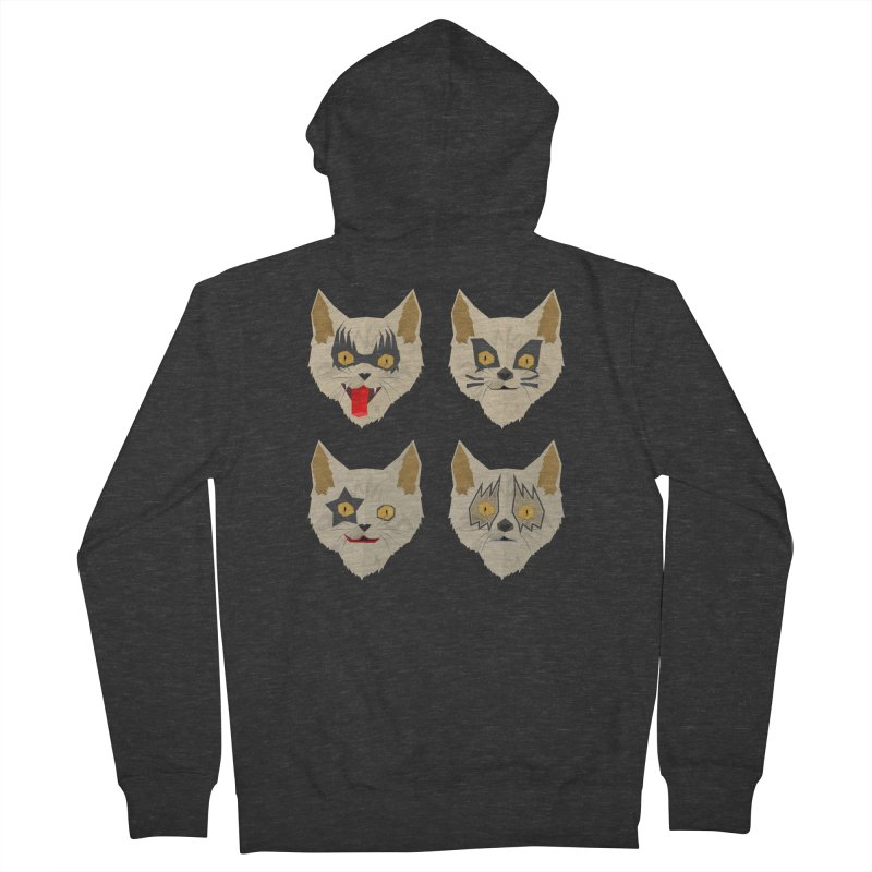 Cat Kiss Women's Zip-Up Hoody by SOE