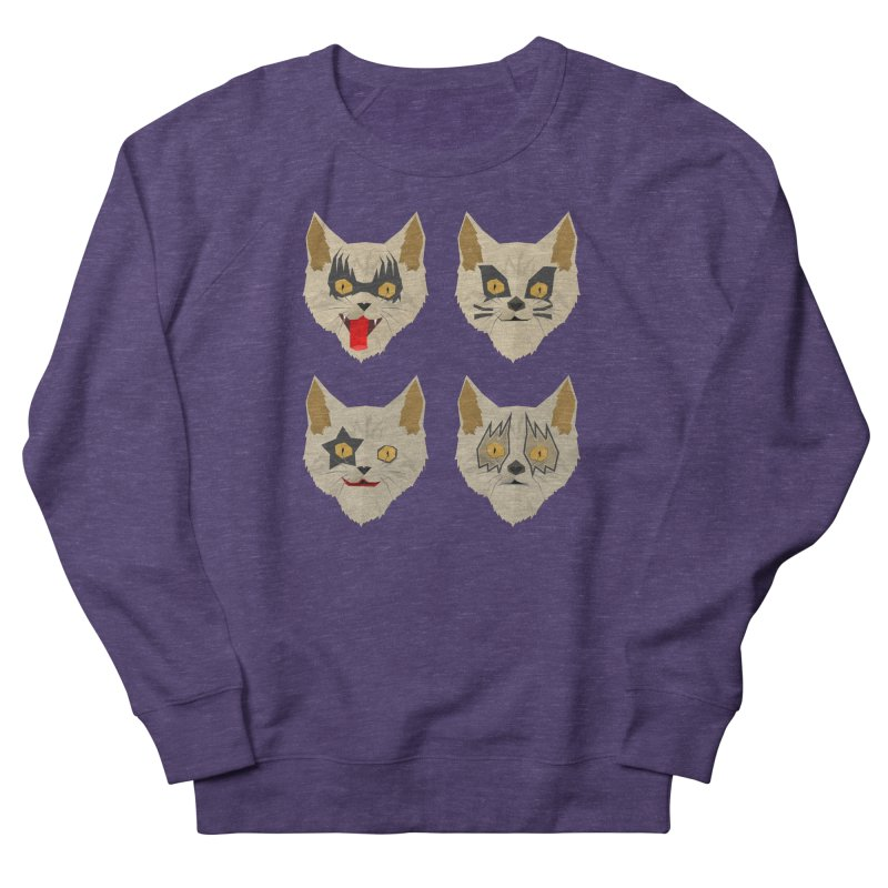 Cat Kiss Men's Sweatshirt by SOE