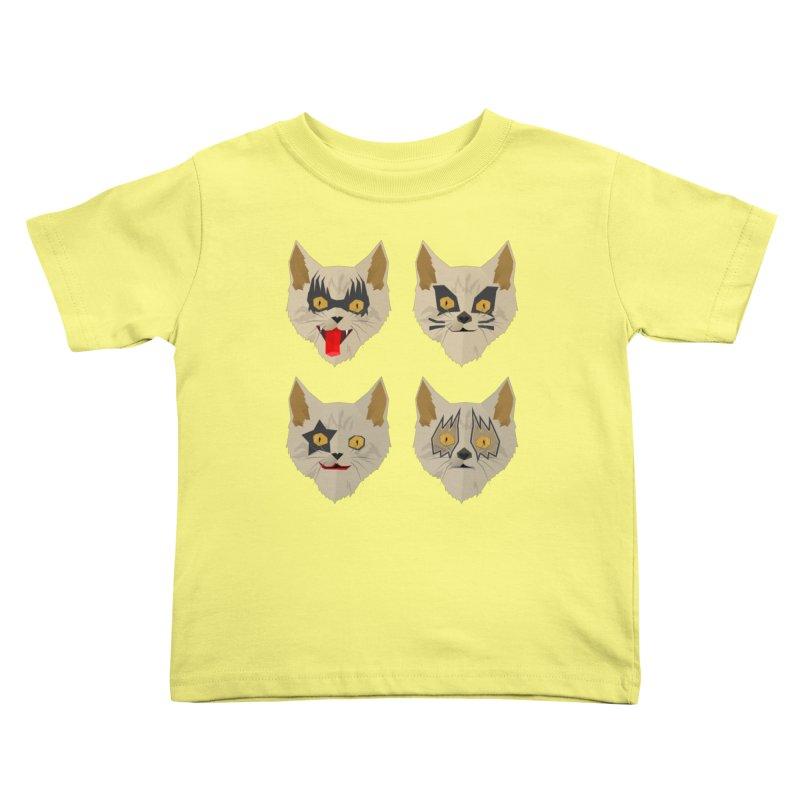 Cat Kiss Kids Toddler T-Shirt by SOE