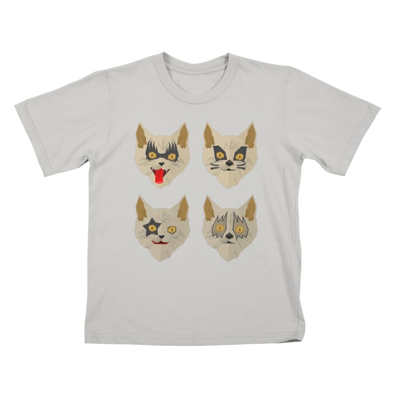 Cat Kiss Kids T-Shirt by SOE