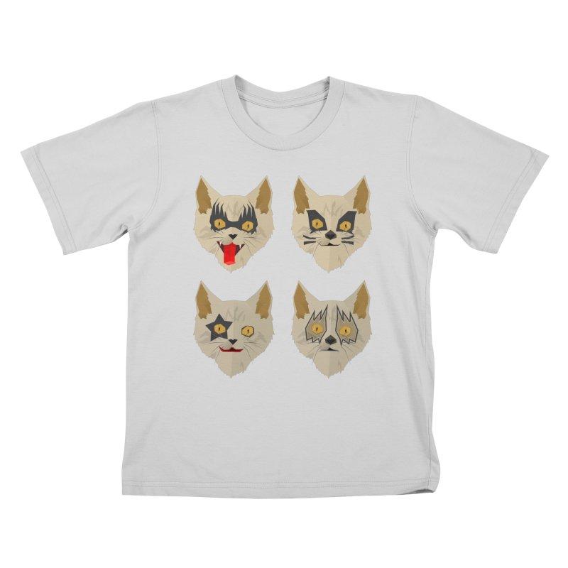 Cat Kiss Kids T-Shirt by SOE