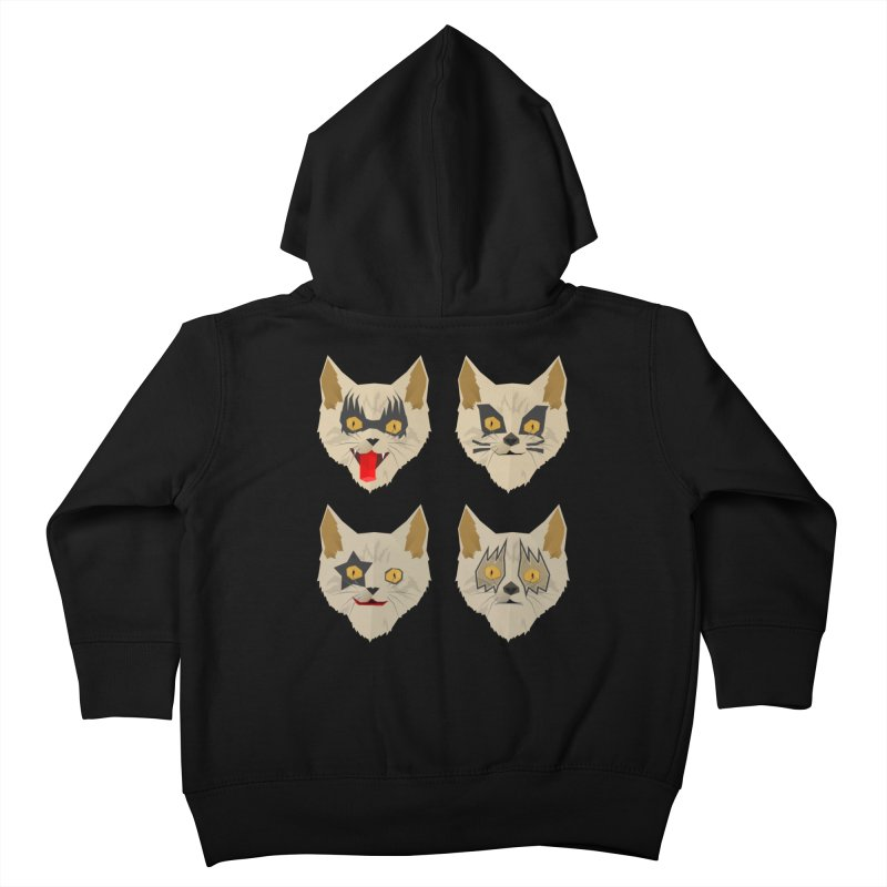 Cat Kiss Kids Toddler Zip-Up Hoody by SOE