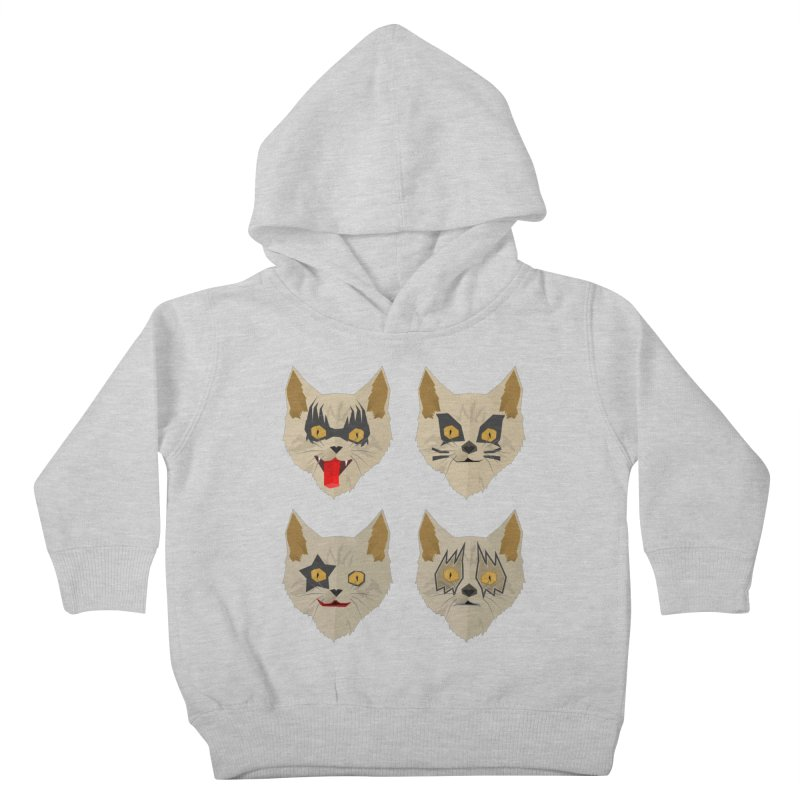 Cat Kiss Kids Toddler Pullover Hoody by SOE