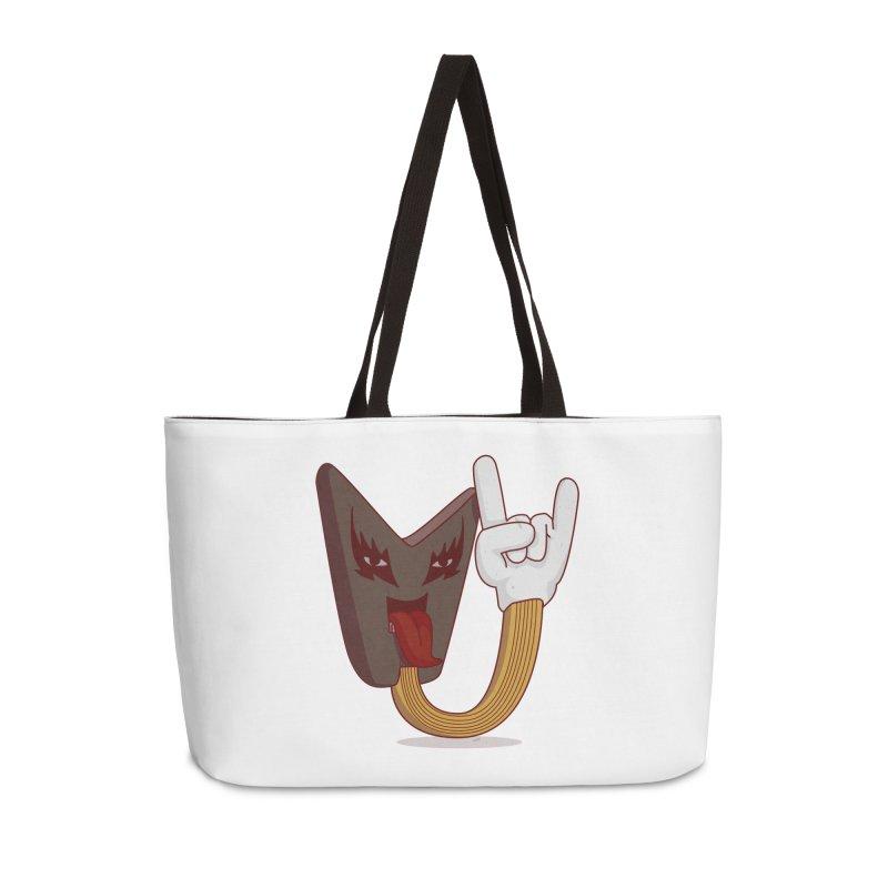 Metal! Accessories Weekender Bag Bag by SOE