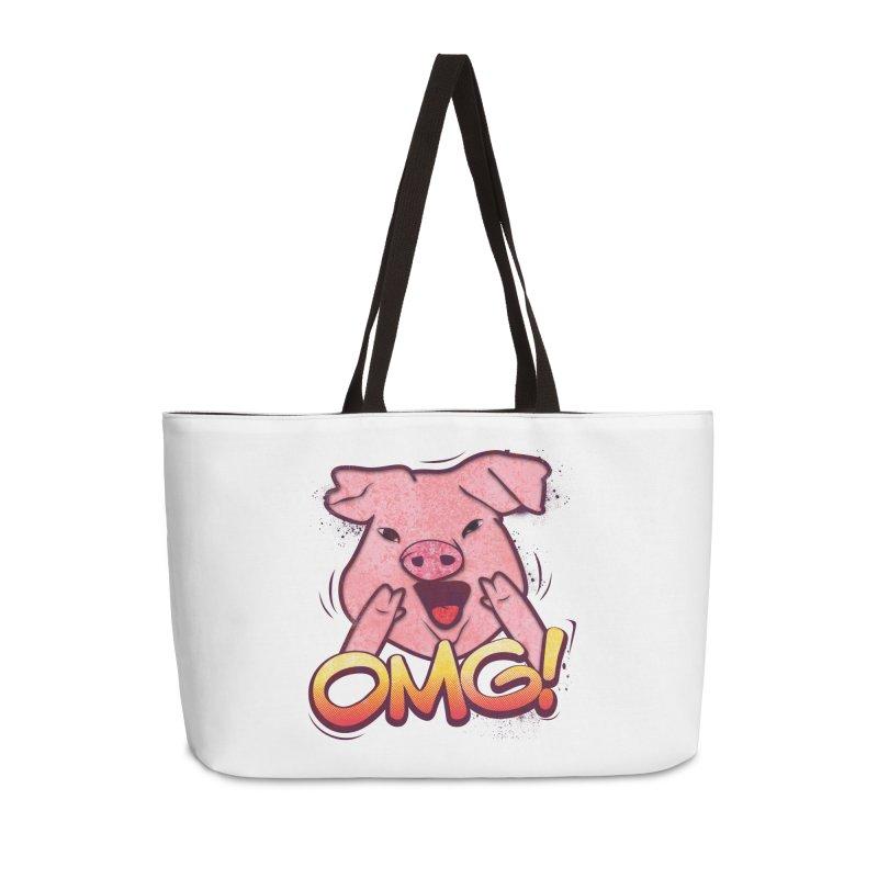 oh my god pig Accessories Weekender Bag Bag by SOE