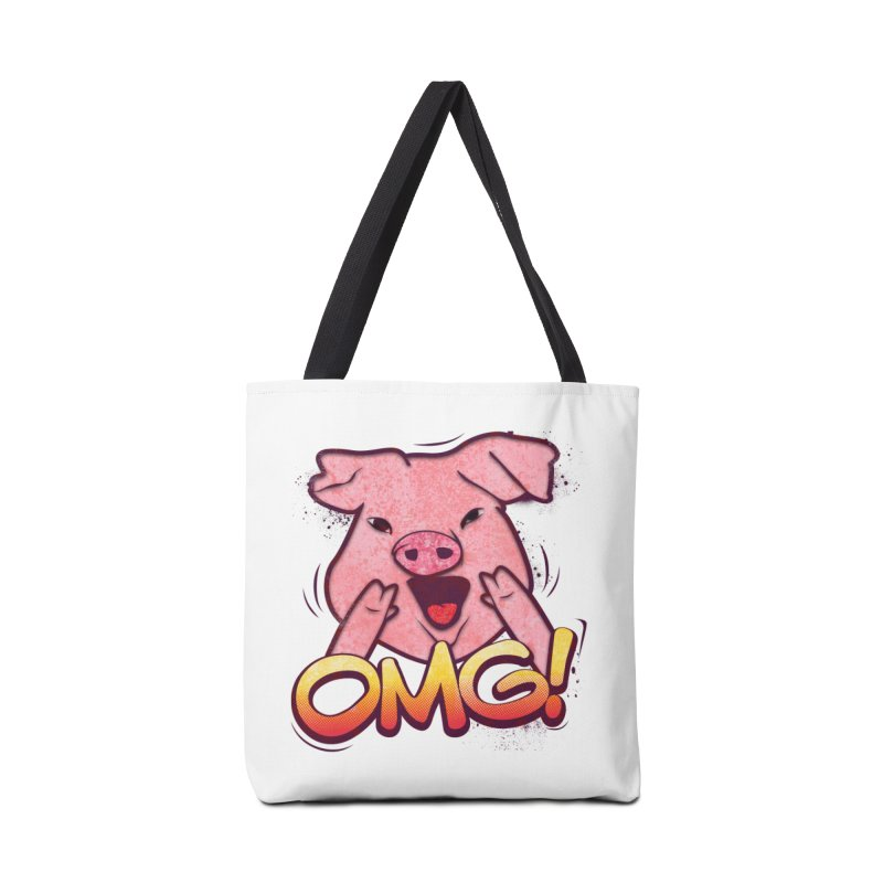 oh my god pig Accessories Tote Bag Bag by SOE