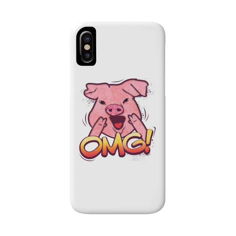 oh my god pig Accessories Phone Case by SOE