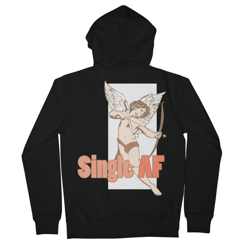 single af Men's French Terry Zip-Up Hoody by SOE