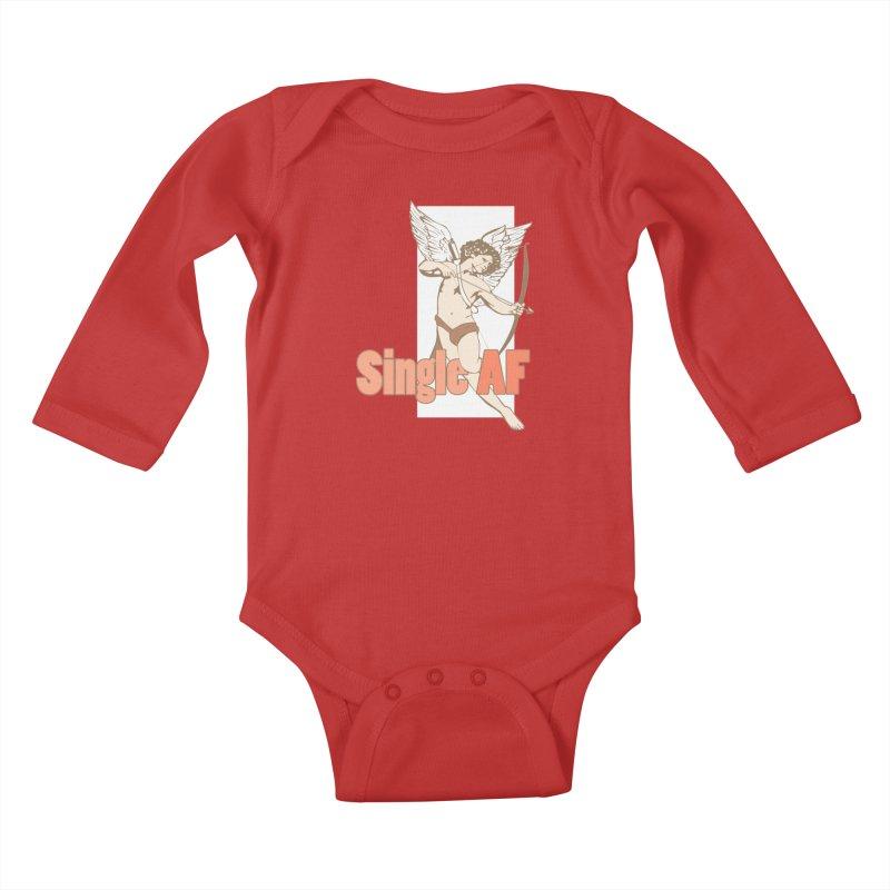 single af Kids Baby Longsleeve Bodysuit by SOE