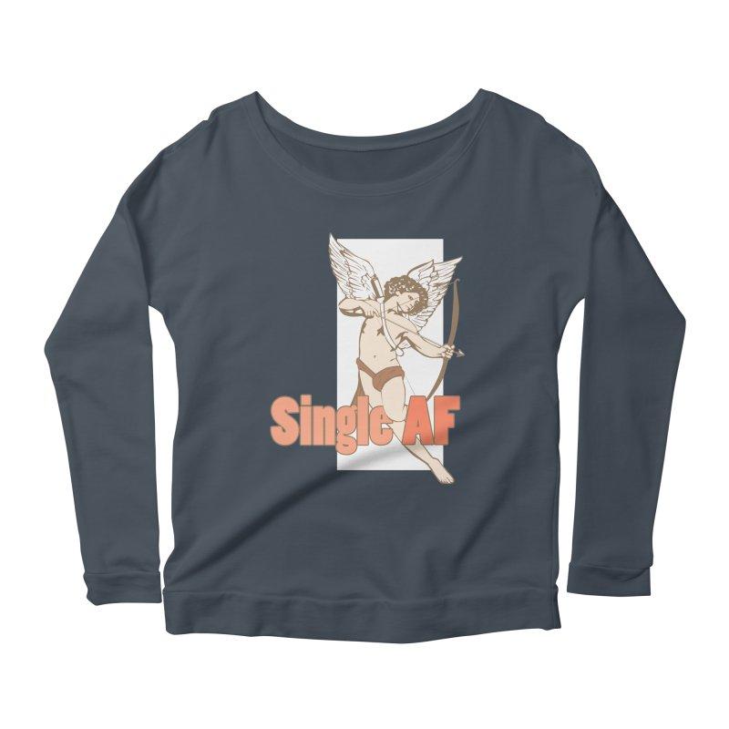single af Women's Scoop Neck Longsleeve T-Shirt by SOE