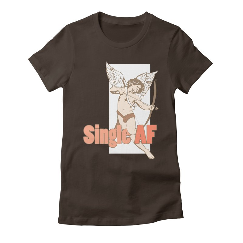 single af Women's Fitted T-Shirt by SOE