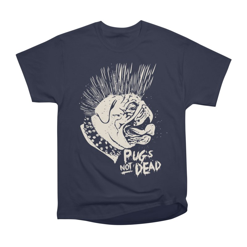 pug's not dead Men's Heavyweight T-Shirt by SOE
