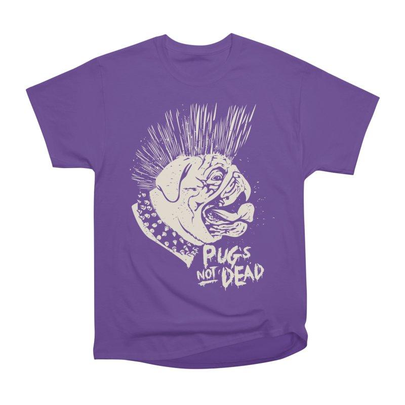 pug's not dead Women's Heavyweight Unisex T-Shirt by SOE