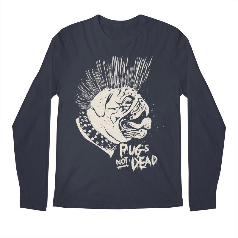 pug's not dead Men's Regular Longsleeve T-Shirt by SOE