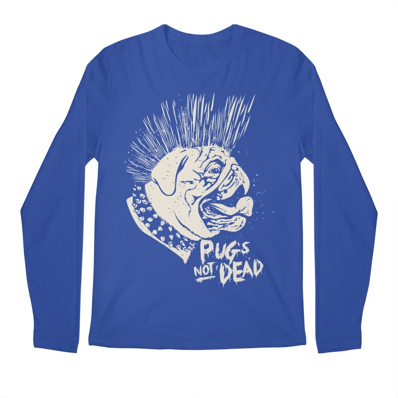 pug's not dead Men's Longsleeve T-Shirt by SOE