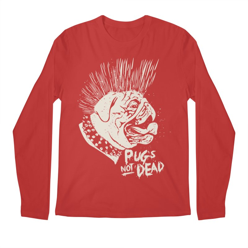 pug's not dead Men's Regular Longsleeve T-Shirt by SOE