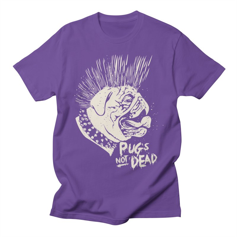 pug's not dead Women's Regular Unisex T-Shirt by SOE