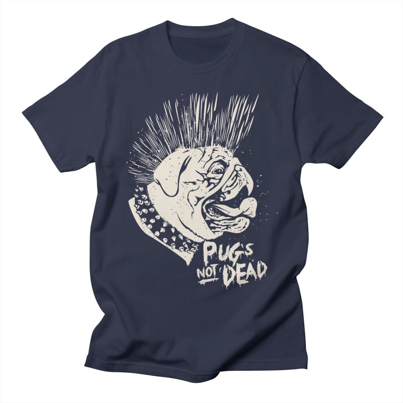 pug's not dead Men's Regular T-Shirt by SOE