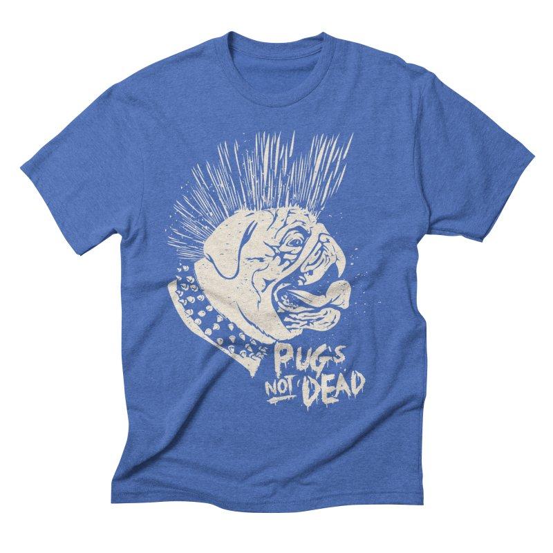 pug's not dead Men's Triblend T-Shirt by SOE