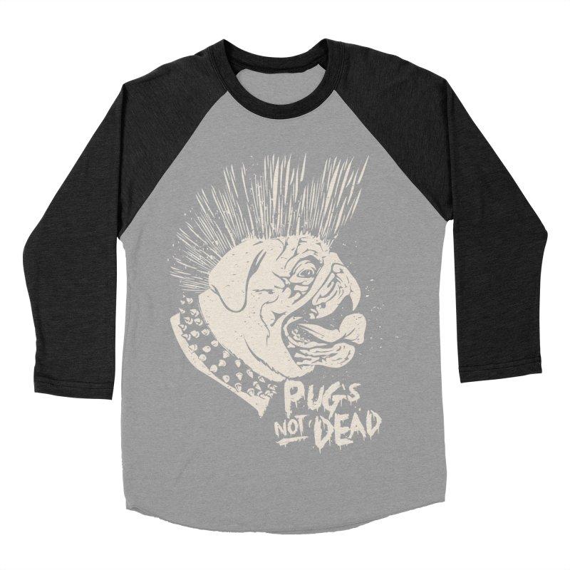 pug's not dead Men's Baseball Triblend Longsleeve T-Shirt by SOE