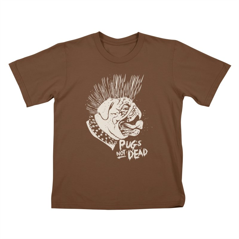 pug's not dead Kids T-Shirt by SOE