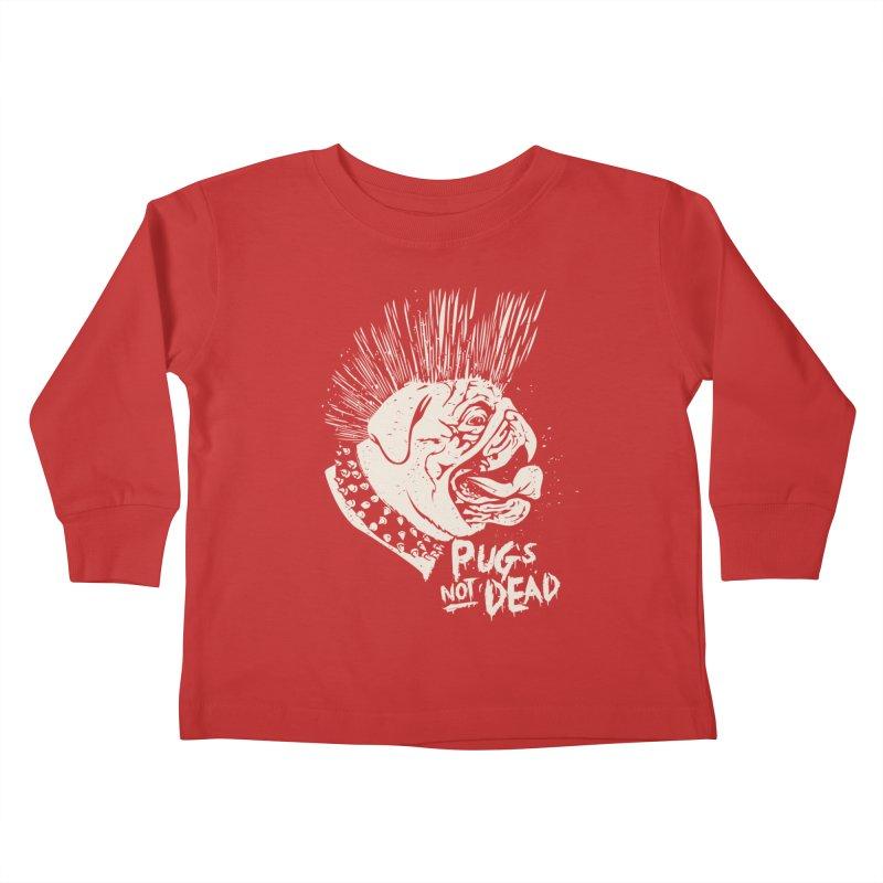 pug's not dead Kids Toddler Longsleeve T-Shirt by SOE