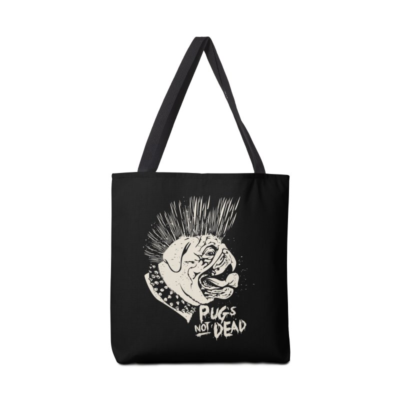 pug's not dead Accessories Tote Bag Bag by SOE